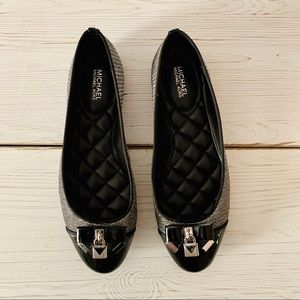Michael Kors Black Ballet Flats - Size 7.5